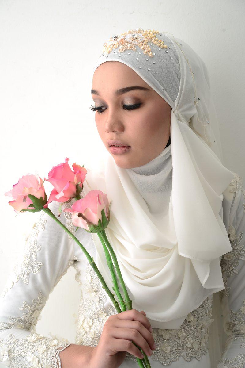 Image result for gaya tudung pengantin