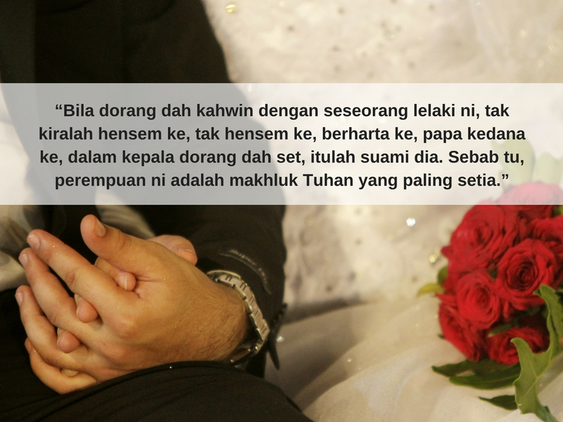 Kebahagiaan Hakiki Bukanlah Pada Harta Benda Je Tapi Bila Suami Isteri Saling Melengkapi Pesona Pengantin