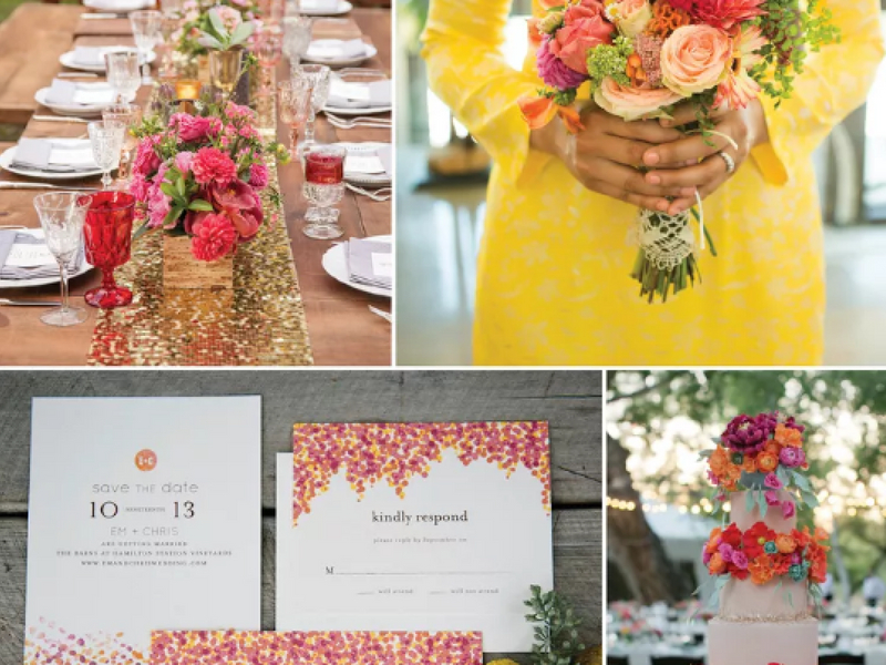 Meriahkan Majlis Kahwin Dengan 10 Pilihan Tema Warna Kombo