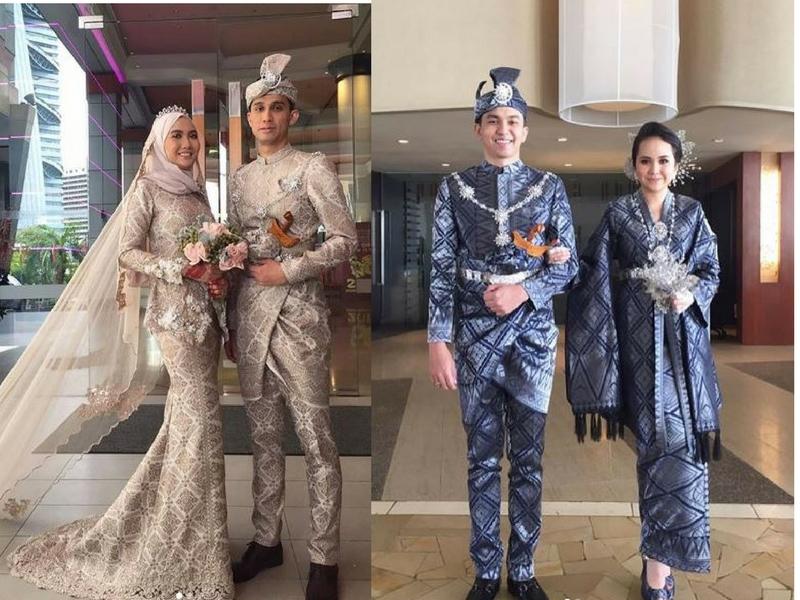 16 Inspirasi Baju Kahwin Songket Yang Confirm Anda Berkenan
