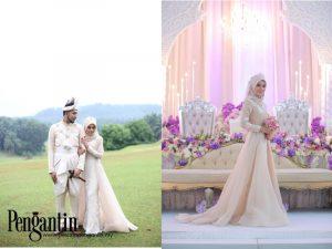 Tip Fitting Baju Kahwin Untuk Bersanding Atau Bertandang