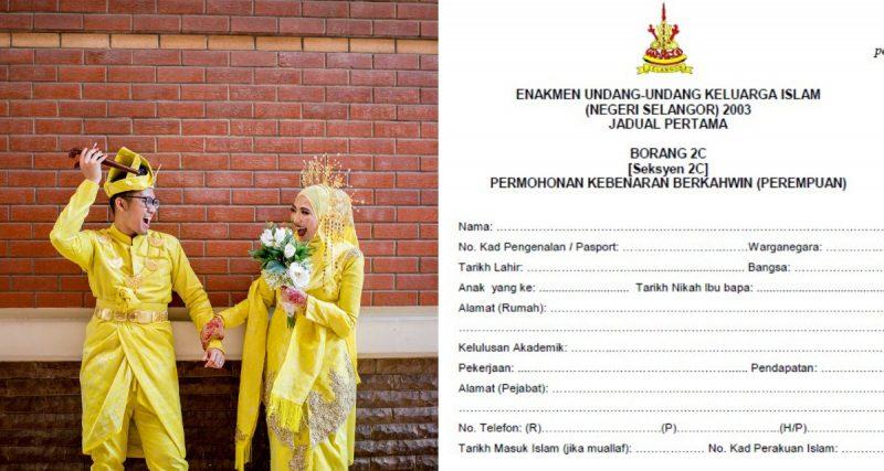 Isi Borang Nikah Bakal Pengantin Kena Ikut Prosedur Yang Betul
