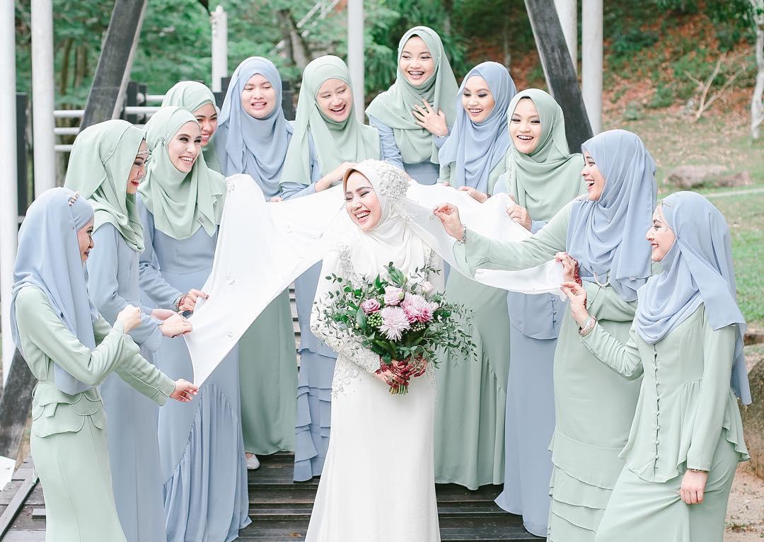 12 Tona Warna Sesuai Untuk Bridesmaid Supaya Pengantin Tak