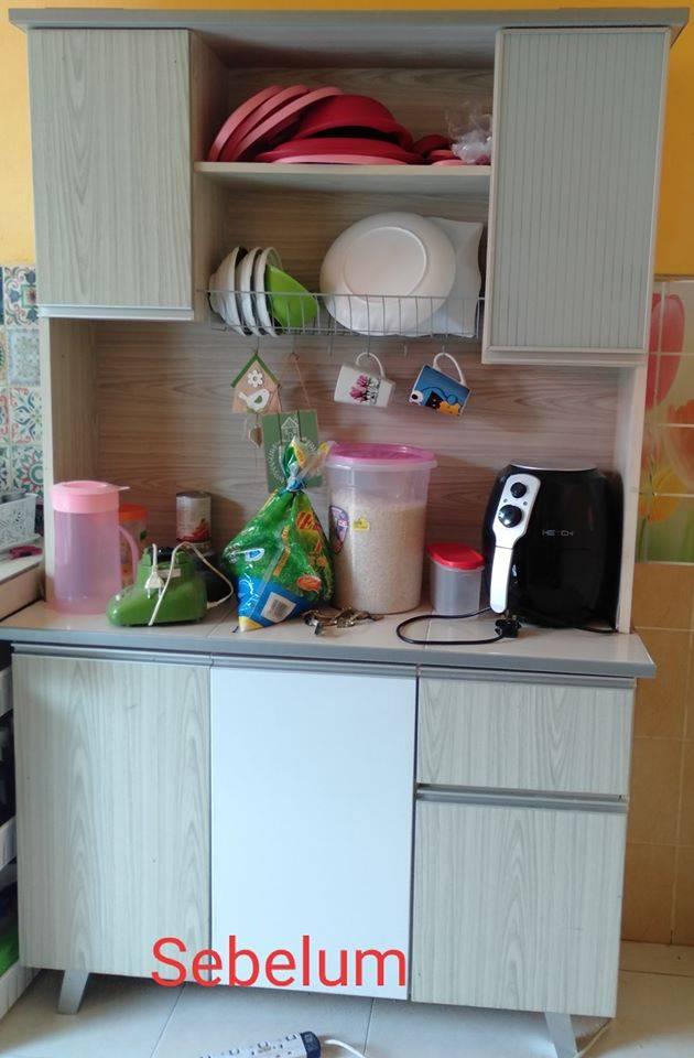 Sebab Sayangkan Isteri Suami Perbaiki Dapur Sendiri Dengan Bajet Bawah Rm1000 Pesona Pengantin